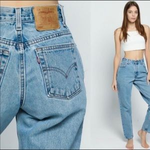 LEVI'S Vintage  550 Relaxed Fit Tapered Leg Jeans